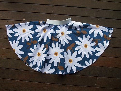 Daisies Circle Skirt
