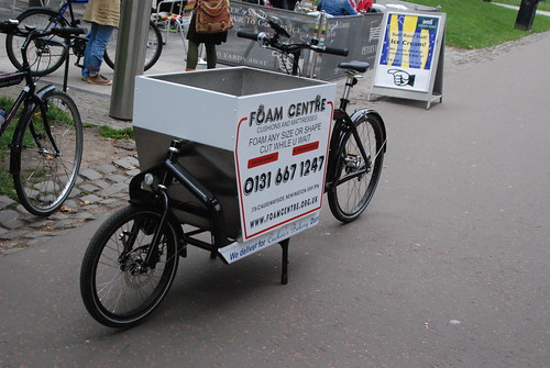 BULLITT cargo bike in Edinburgh