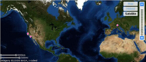 The world view of the map