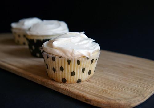 Vanilla Cupcakes with Bourbon Buttercream II