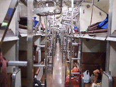 Sleeping quarters, Train 69 from Bangkok to Nong Khai