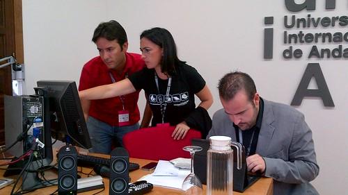 Juanma, Victoria y Paco by Congreso APDA
