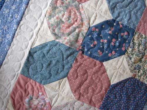 Practice quilt detail
