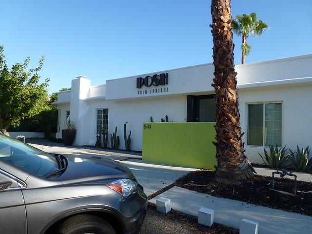 Posh Guest House Palm Springs California