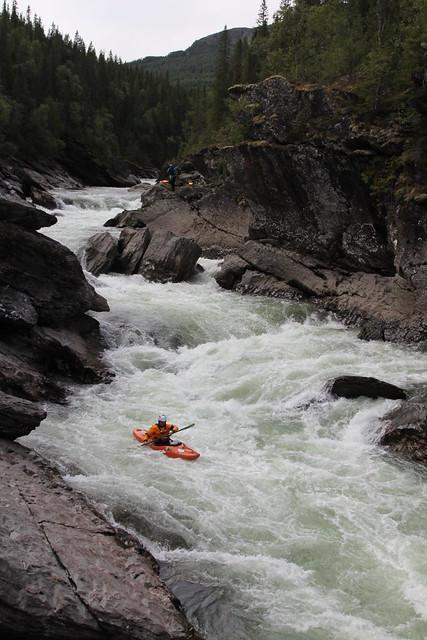 Jakub deep in the gorge of Susena