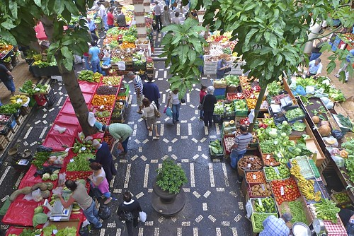 Market Place in Funchal, Madeira