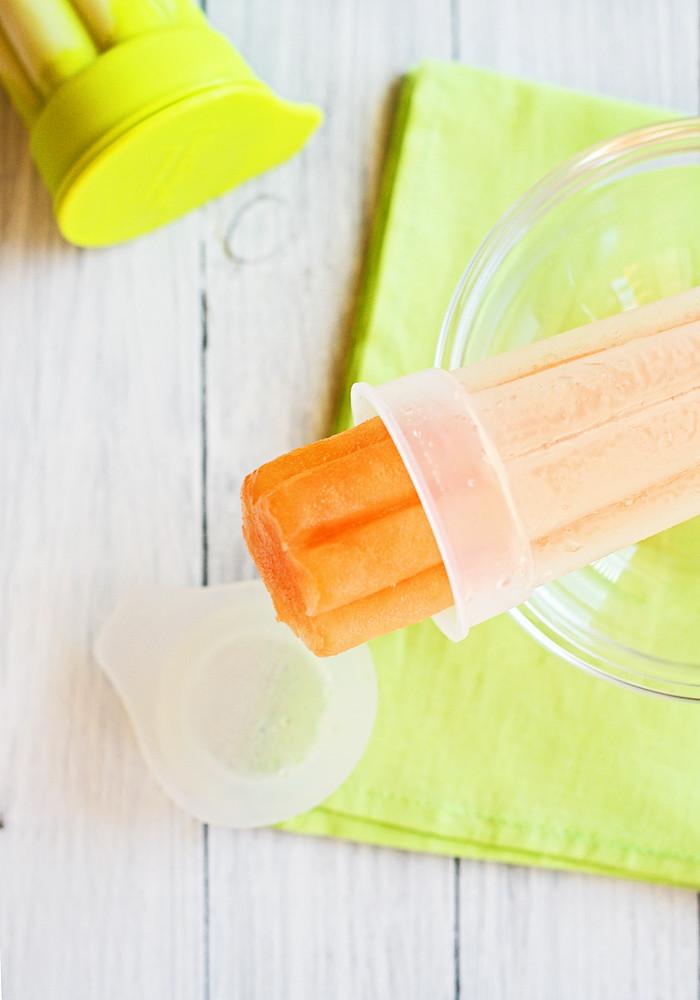 helado de melón cantaloup