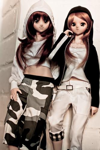 Sister together