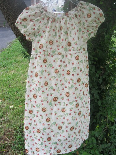 Molly Peasant Dress Fully View