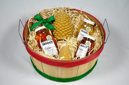 large basket on white
