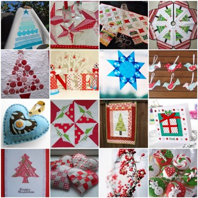 Christmas Table Runner swap mosaic