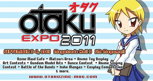 Otaku Expo September 2011 SM Megatrade Hall Megamall