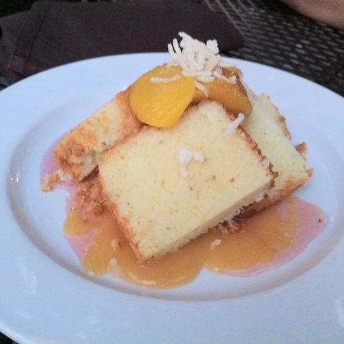 OMFG (Just spotted Lemon Poundcake With Peaches on @Foodspotting)