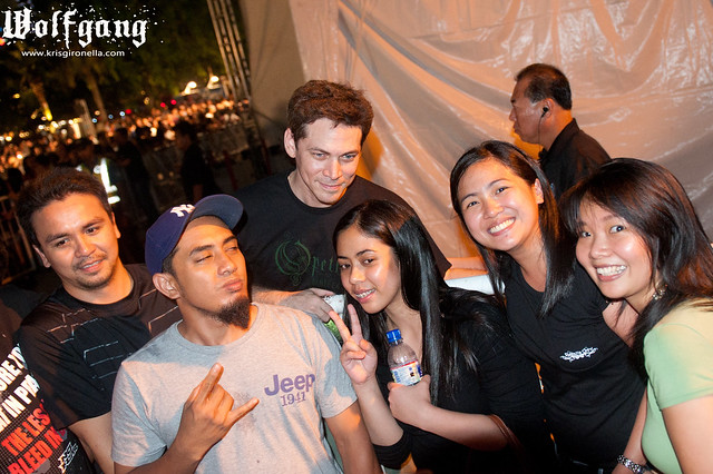 Manuel Legarda with Fans
