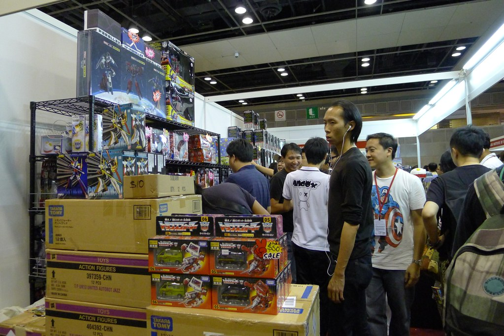 Singapore Toy, Games, and Comic Convention 2011 Day 2 Event Report