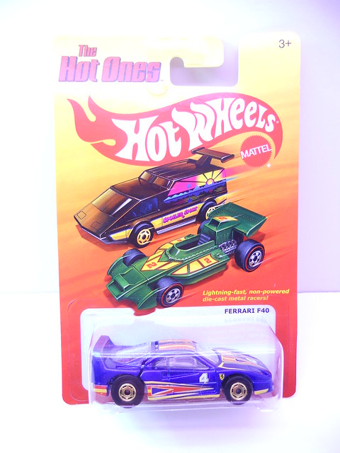 hot wheels hot ones ferrari f40 (1)