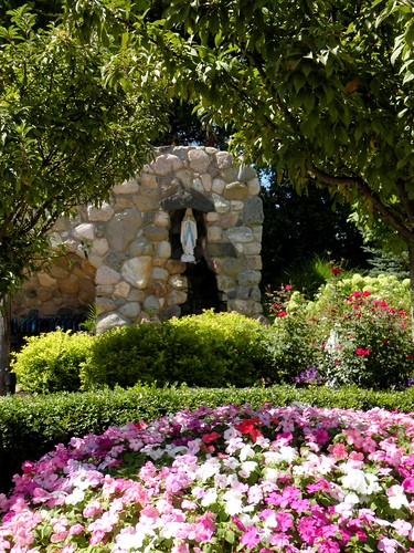Our Lady of Lourdes Grotto, OLGC, Plymouth, MI