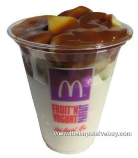 McDonald's Caramel Apple Parfait