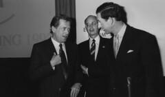Vaclav Havel, Klaus Schwab, Prince Charles - W...