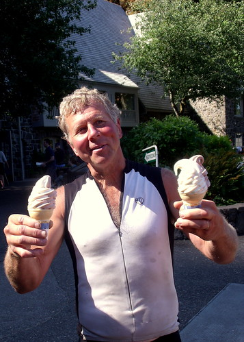 Mike with Ice Cream