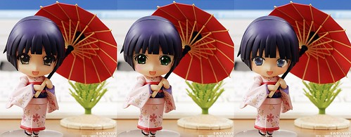 Nendoroid Yune with various eyes
