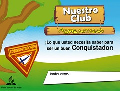 Aspirantazgo - Tarjeta del Aspirante al Club de Conquistadores (1/5)