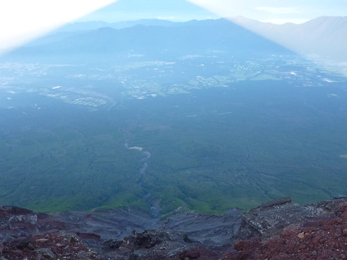 お鉢巡り, 一合目から富士山に登る Climbing Mt.fuji, from the starting point of Yoshidaguchi Climb Trail