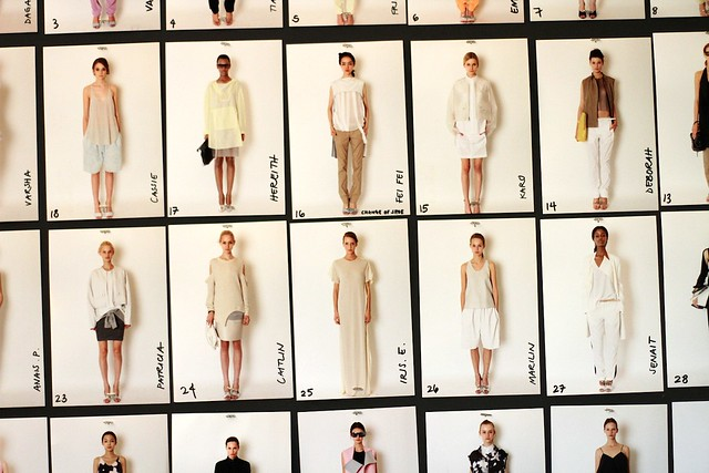 Sneak Peek: 3.1 Phillip Lim Backstage S/S 2012