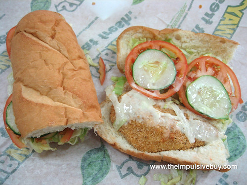 Subway Oven Crisp Chicken Sub