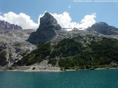 Lago Fedaia e Maromlada