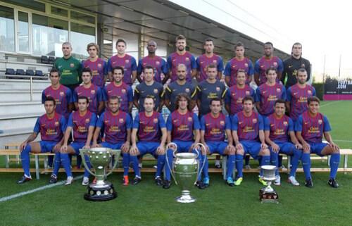 FC Barcelona 2011 - 2012 FOTO Diario SPORT
