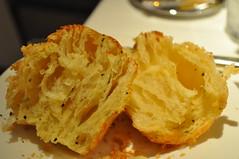 bread detail: roasted garlic brioche