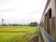 Train 69 from Bangkok to Nong Khai