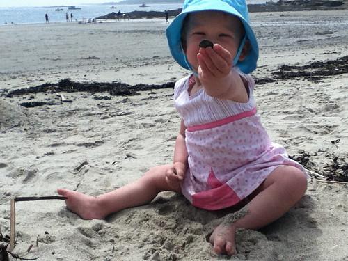 1st beach trip
