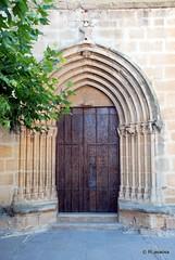 Portada de la parroquia de San Millán