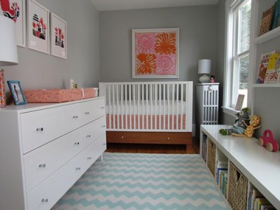 bench girl nursery