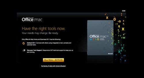 Buy Microsoft Office for Mac - Step 2