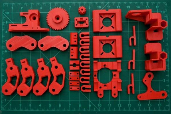 Prusa Mendel printed parts