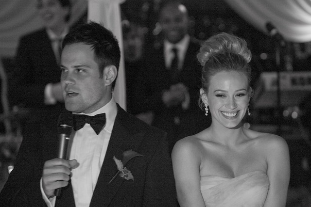 Hilary Duff & Mike Comrie's Wedding