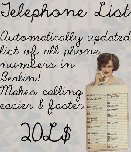 The Telephone List