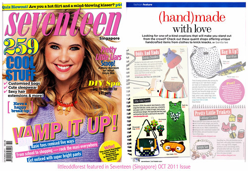 LOF in Seventeen (Singapore) OCT 2011