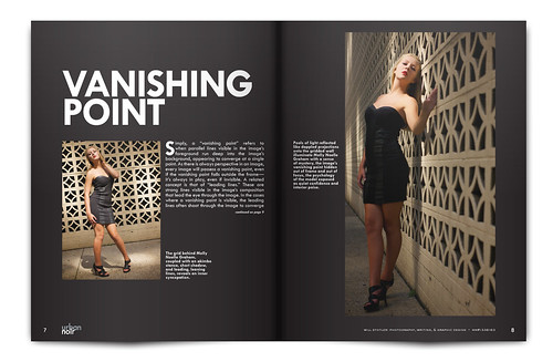 Urban Noir Magazine, Issue 1 - Pgs. 7 & 8