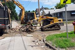 USACE debris removal in North Dakota