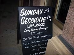 SUNDAY SESSIONS IN SILVER STREET HULL