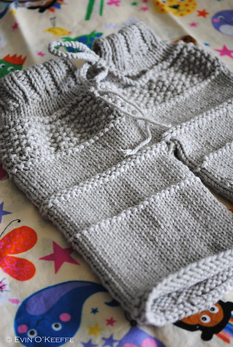 Hand Knit Baby Pants from the Kanoko Pattern (3/3)