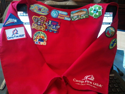 Camp Fire vest