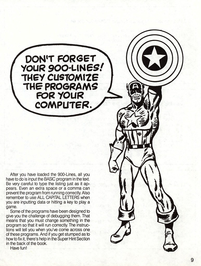 Capt America 900 lines