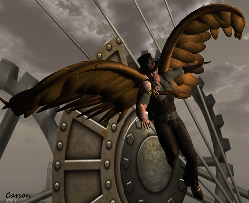 Top Katz - Steam Chest Belt and Steam Wings