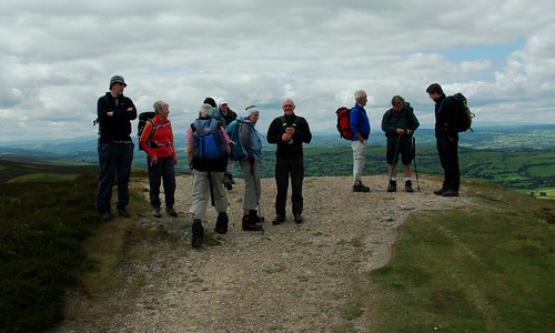200110619-31_Admiring the view from Summit of Moel y Faen by gary.hadden