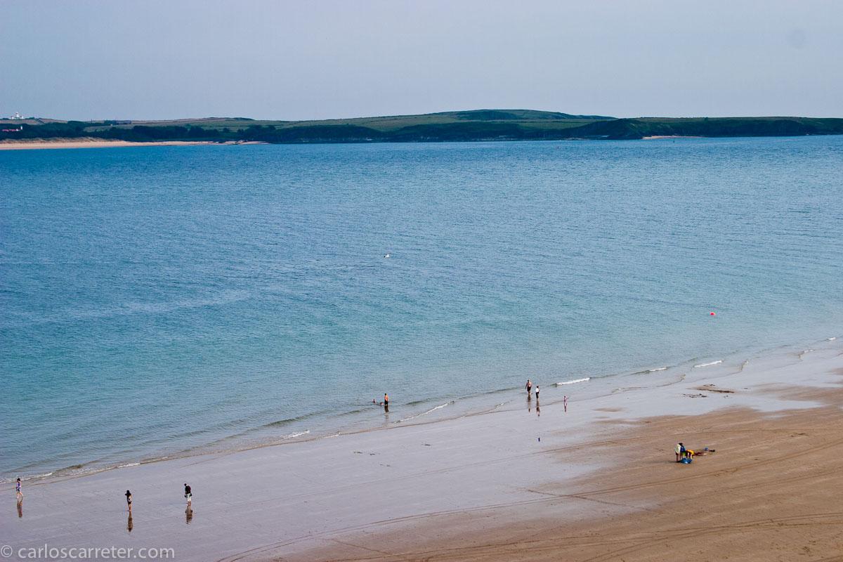 Playas en Tenby